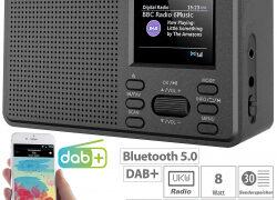VR-Radio Mobiles Digitalradio DOR-225 mit DAB+ und UKW