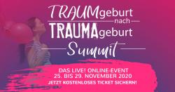 TRAUMgeburt nach TRAUMAgeburt – Summit – Online und Live