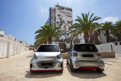 Ushuaïa Ibiza launcht smart-Elektroauto:  smart fortwo EQ Ushuaïa Limited Edition 2020