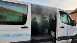 """Krankentransporte und Rollstuhlfahrten: Vernebelte Salzlösung zur Desinfektion """"zerstört"""" Coronaviren im Fahrzeuginneren"""