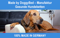 Gesunde Hundebetten – Made by DoggyBed® Manufaktur