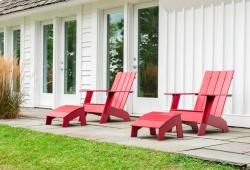Moderne Adirondack Chairs aus recyceltem Kunststoff von Loll Designs