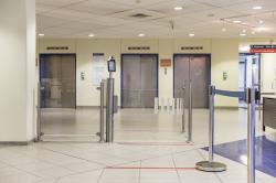Galaxyport Protect von Wanzl im Klinikum Herford