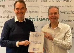 """GRÜN Software Group erhält Auszeichnung """"Innovator des Jahres 2020"""""""