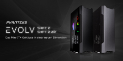 Phanteks Evolv Shift 2 und Shift 2 Air bei Caseking!