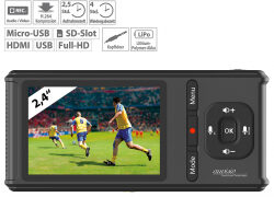 auvisio 4K-UHD-Video-Rekorder & Live GC-500