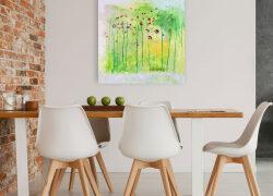 Wandbilder für die Arztpraxis – Kunst muss nicht teuer sein
