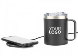 Neu bei MrDISC: Wireless Charger + Becher im SET