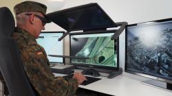 Stereoskopische Display- und Arbeitsplatz-Lösungen für militärische Einsatzbereiche