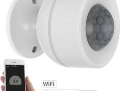 Luminea Home Control 3in1-WLAN-PIR-Bewegungsmelder