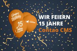 Contao Open Source CMS wird 15 Jahre