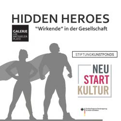 HIDDEN HEROES sozial engagiertes Kunst- und Kulturprojekt