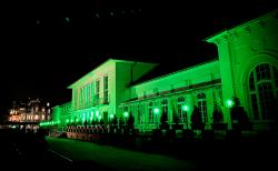 Dolce by Wyndham Bad Nauheim: Grünes Licht und gedeckter Tisch…