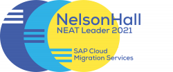 NTT DATA als Leader im SAP Cloud Migration Report von NelsonHall positioniert