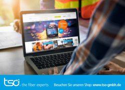 """Relaunch der tso-Homepage: Vom """"fiber expert"""" für """"fiber experts"""""""