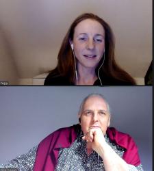 Peggy-Seegy im Podcast Interview Ergebnisorientiert in der 1.100 Folge von…