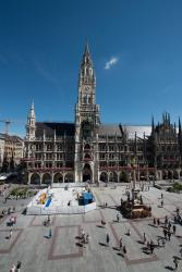 Neuer Belag für Zentrum der EM-Stadt München