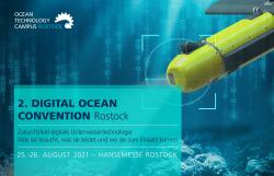 Stelldichein der Unterwassertechnologie – 2. Digital Ocean Convention Rostock