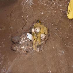Nach der Flut: Gefährliche Keime in Wasser und Schlamm