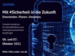 Mit Sicherheit in die Zukunft – virtuelle Konferenz zum Thema…