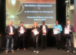 Recruiter haben Deutschlands Beste Bewerbermanagementsysteme gewählt