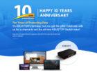 ASUSTOR Switch'nstor: brandneuer 2.5-GbE-Switch mit fünf Ports zum 10-jährigen Jubiläum…