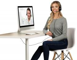 Callstel USB-On-Ear-Stereo-Headset GHS-120