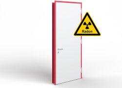 Türen zum Schutz gegen Radon