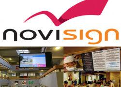 NoviSign-kostenlose Digital Lösungen für Gastro- und Bildungsbranche