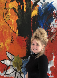 Abstrakte Leidenschaft – die Kunst der Vanessa Kuhn