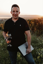 Weinverkauf findet online statt.